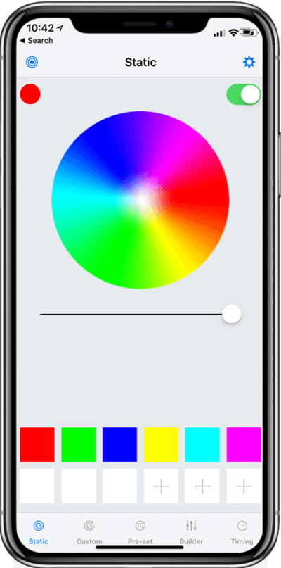Easy to Use, Full-Colour Spectrum